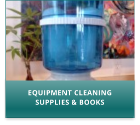 EQUIPMENT CLEANING SUPPLIES & BOOKS